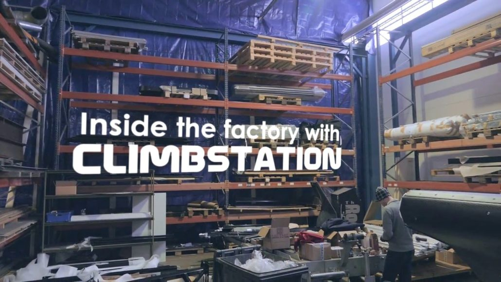 Inside the factory with Climbstation